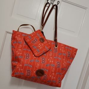 Dooney & Bourke Red Sox Addison Tote & Wri…